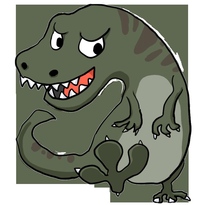 Pin 恐竜のイラスト 無料 ...
