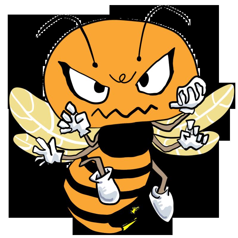 あいつの針に気をつけろ身近なモンスター攻撃的なスズメバチハチ