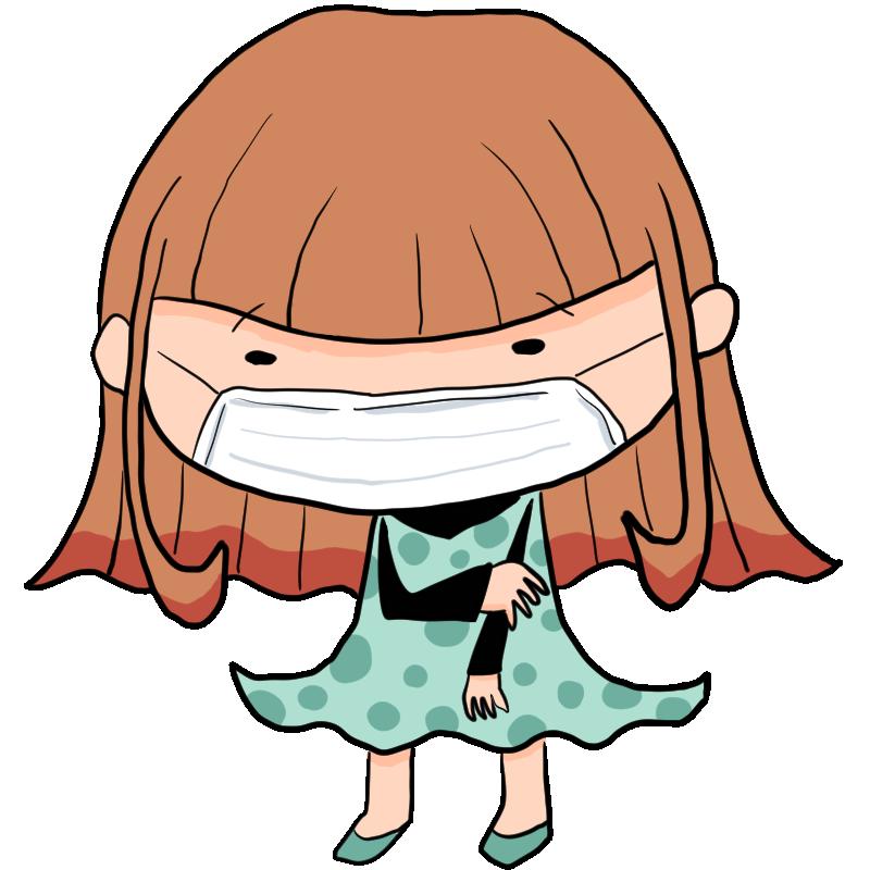 自分を隠したい顔を見られたくないマスク依存症あるいはただの風邪